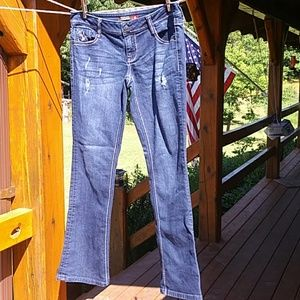 People's Liberation Slim Bootcut jeans size 7/8